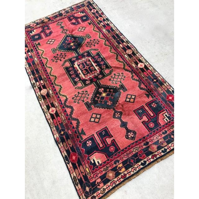 "Vintage Persian Rug - 4'4"" x 8' - Image 2 of 7"