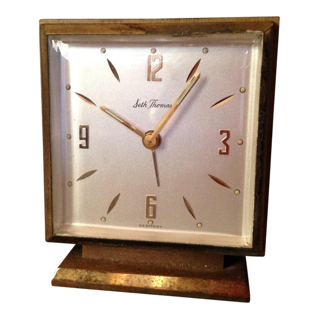 Seth Thomas Keywound Dynaire No. 915 Clock - Image 1 of 5