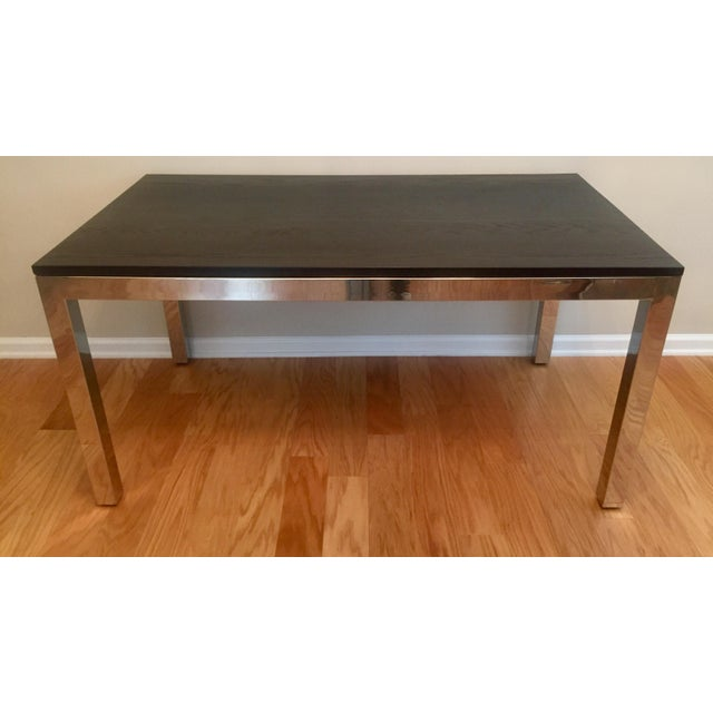 Mitchell Gold + Bob Williams Modern Mitchell Gold Parsons Dining Table For Sale - Image 4 of 4