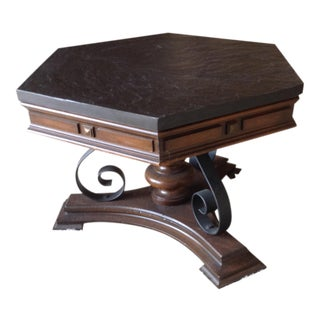 Slate Accent Table For Sale