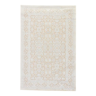 Jaipur Living Regal Damask Beige & Blue Area Rug - 12'x15' For Sale