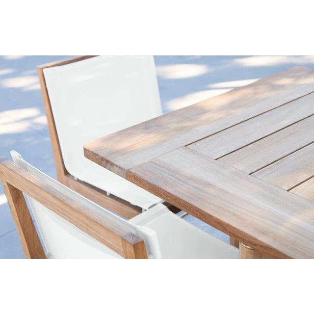 Contemporary Harbour Outdoor Byron Dining Chair For Sale - Image 3 of 4