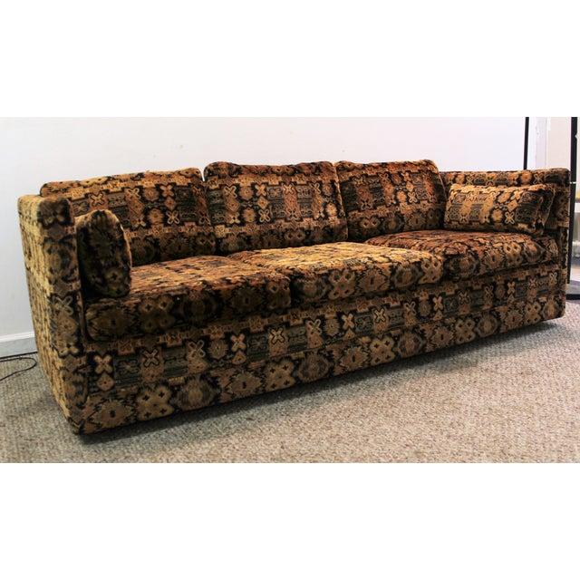 Mid Century Milo Baughman Forecast Furniture Sofa - Image 3 of 11