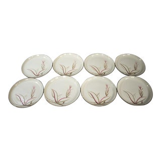 "Vintage ""Dragon Flower"" Winfield Dinner Plates - Set of 8 For Sale"