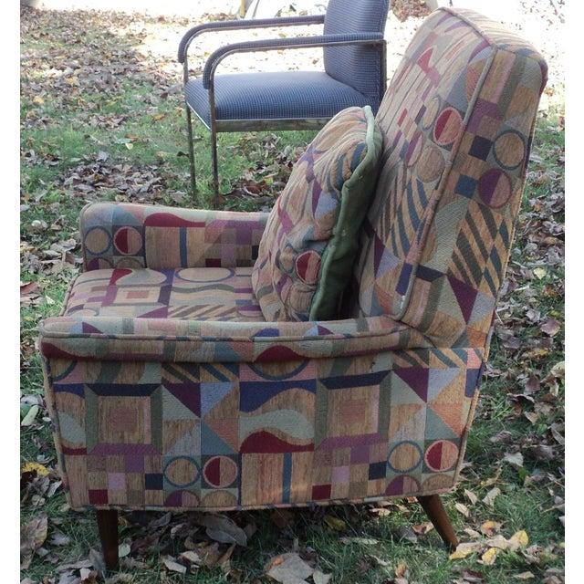 Mid-Century Modern Lounge Club Chair - Image 5 of 9