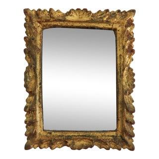 Italian Florentia Giltwood Mirror For Sale