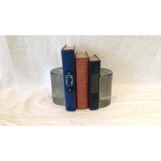 Vintage Glass Ice Block Bookends - A Pair - Image 3 of 6