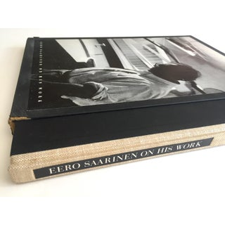 """"""" Eero Saarinen on His Work """" Rare Vtg 1968 Collector's Slipcase Large Hardcover Mid Century Modernism Architecture Book Preview"""