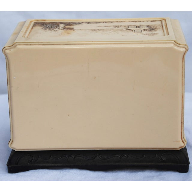 Vintage Celluloid Asian Jewelry Box - Image 10 of 11