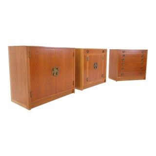 Edward Wormley for Dunbar Storage Cabinets For Sale