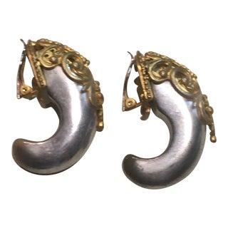 Inna Citrine Horn of Plenty Earrings For Sale