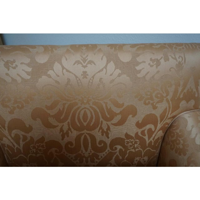 2010s Fortuny Style Club Chairs-A Pair For Sale - Image 5 of 10
