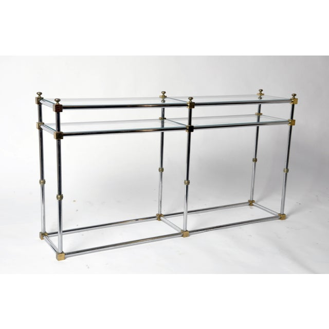 1970s Vintage French Console Table For Sale - Image 5 of 11