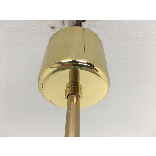 1950s Sputnik Pendant Chandelier Lamp in Different Colors For Sale - Image 11 of 12
