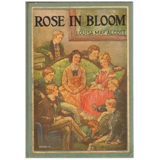 """1933 """"Rose in Bloom"""" Collectible Book For Sale"""