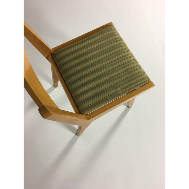 Mid-Century Modern 1950s Mid-Century Modern Jens Risom Knoll Side Chair For Sale - Image 3 of 10