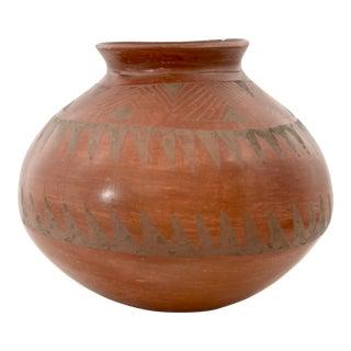 Southwestern Redware Pottery Urn