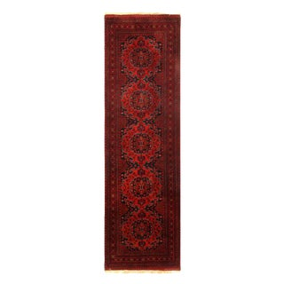 Pasargad Red Fine Bokhara Runner-2'9'' X 9'8'' For Sale