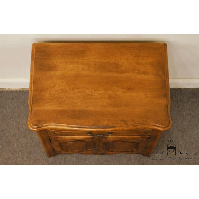 """Late 20th Century Ethan Allen Country French Collection 26"""" Nightstand 26-5316 - Finish 236 For Sale - Image 5 of 13"""