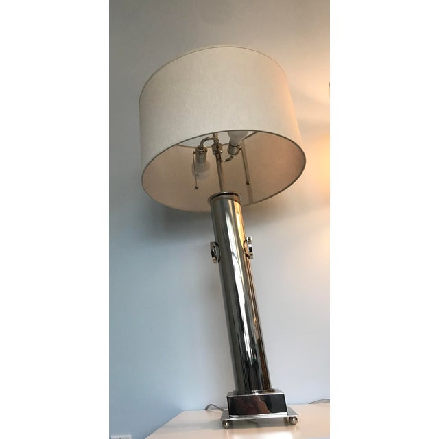 Restoration Hardware Table Lamp - Image 4 of 5