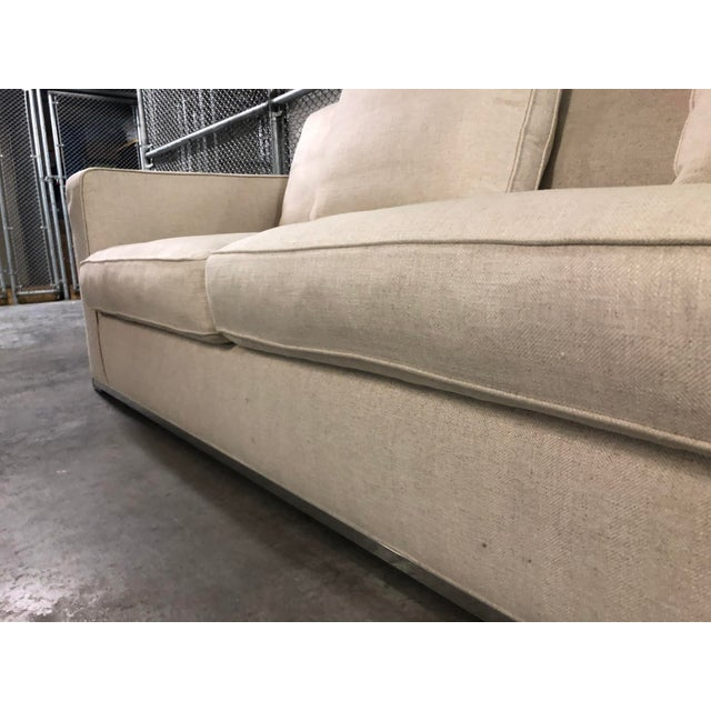 Maxalto Omnia Sectional Sofa-Extra Long For Sale In Miami - Image 6 of 13