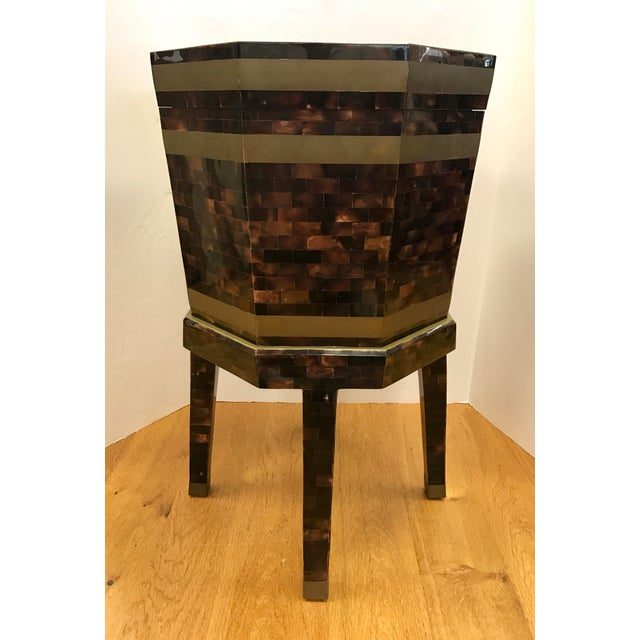 Maitland Smith Tortoiseshell Box Table For Sale - Image 10 of 10