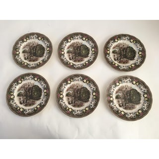 Vintage Johnson Brothers Fall Harvest Orchard Plates Preview