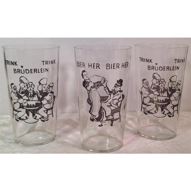 Vintage German Beer Glasses - Set of 3 - Image 2 of 5