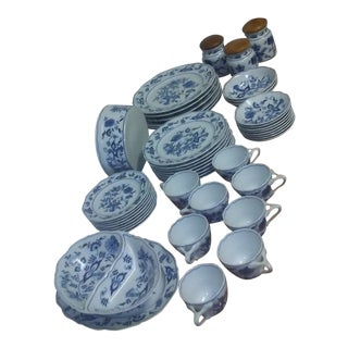 Blue Danube Onion Pattern Dishes For Sale