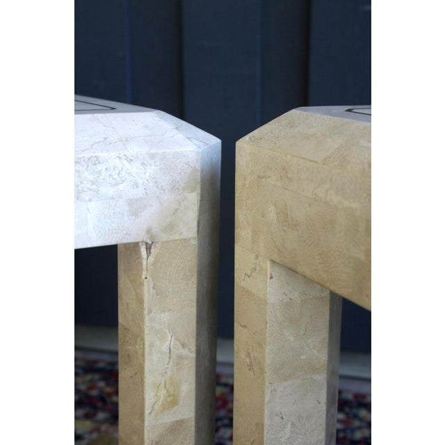 Maitland Smith Tessellated Marble Tables, a Pair For Sale - Image 10 of 13
