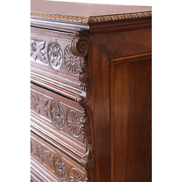 French Provincial 17th Century Chest-Of-Drawers For Sale - Image 3 of 12