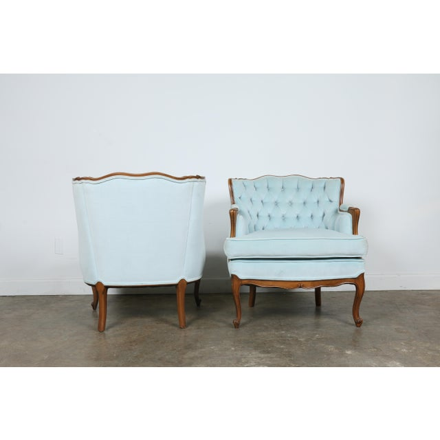 Italian-Style Chairs in Baby Blue - A Pair - Image 7 of 11