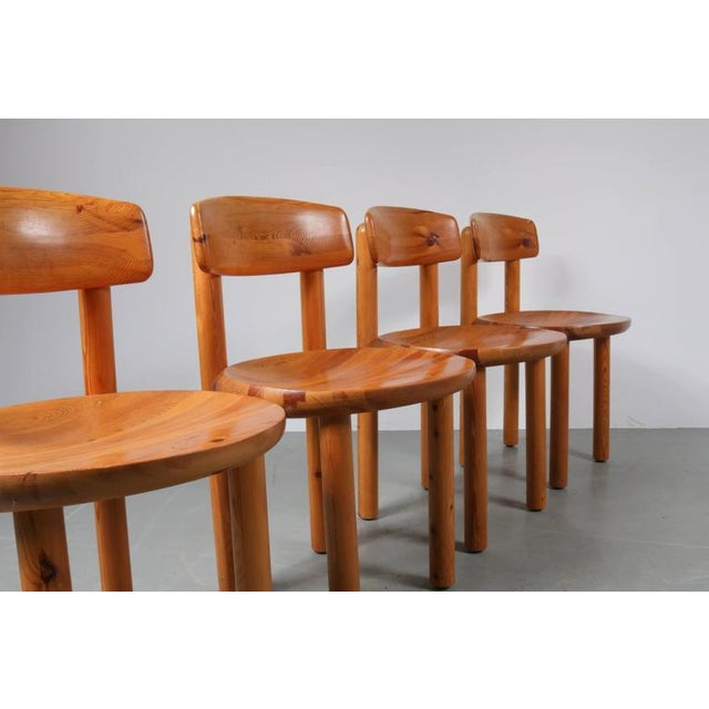 Set of Four Dining Chairs by Rainer Daumiller for Hirtshals Sawmill, Denmark - Image 5 of 8