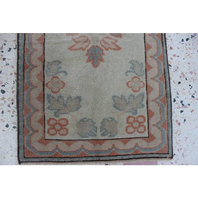 Oriental Handmade Runner Rug - 2′5″ × 11′4″ For Sale - Image 4 of 9