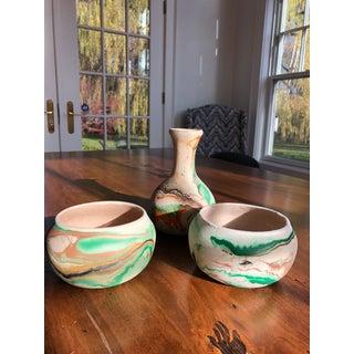 Vintage Nemadji Pottery - Set of 3 Preview