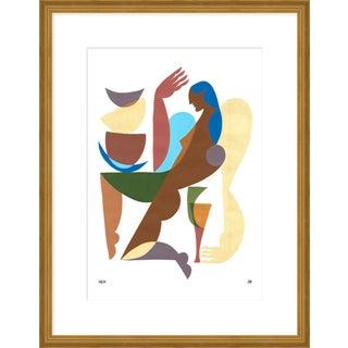 """Medium """"One"""" Print by Sia Dzahn, 20"""" X 26"""" For Sale"""