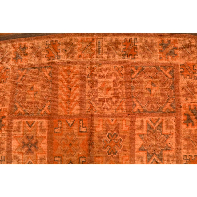Vintage Moroccan Berber Rug - 5′7″ × 12′10″ - Image 4 of 4