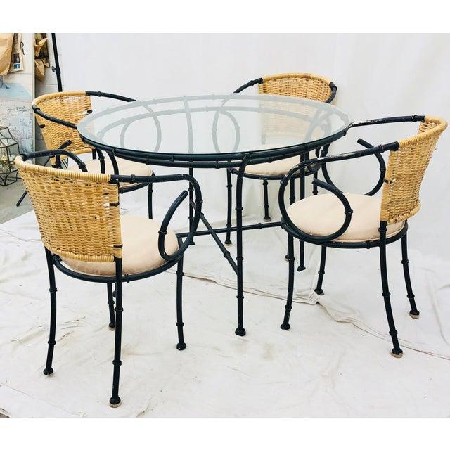 Vintage Regency Style Dining Set For Sale - Image 12 of 12