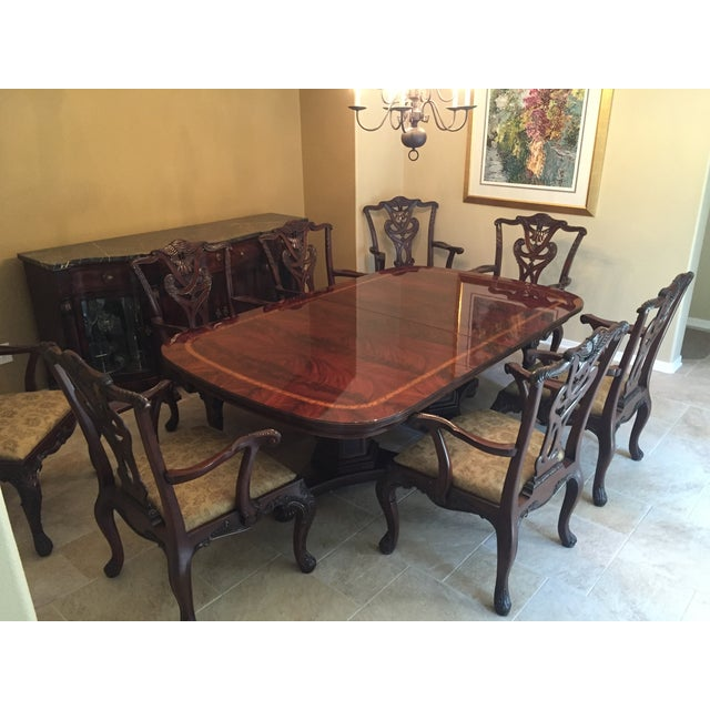 Henredon 'Natchez' Dining Set - Image 3 of 11