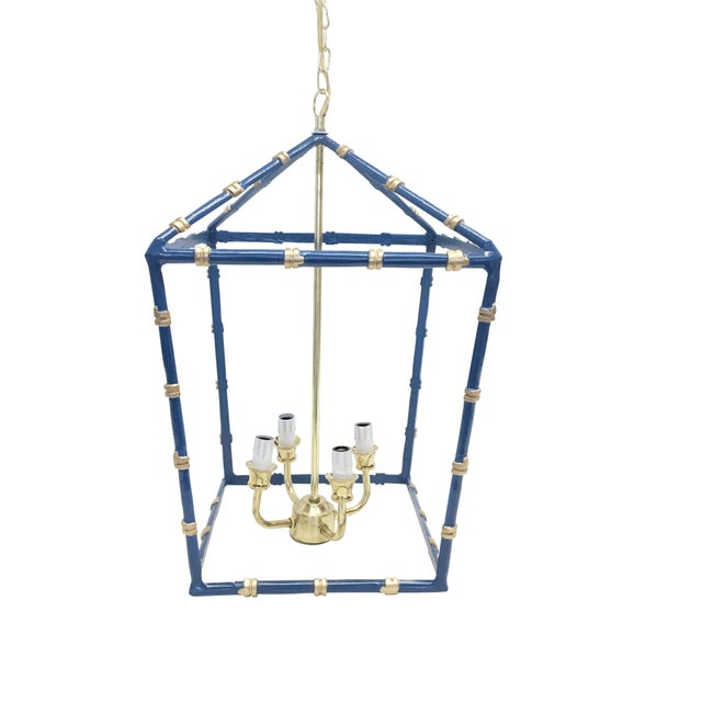 A stunning Chinoiserie Chic accent. Hang two over a kitchen island or light up a foyer. The large bamboo lantern is a nice...