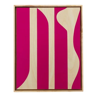 """Pink Perfection"" Modern Painting by Tony Curry For Sale"