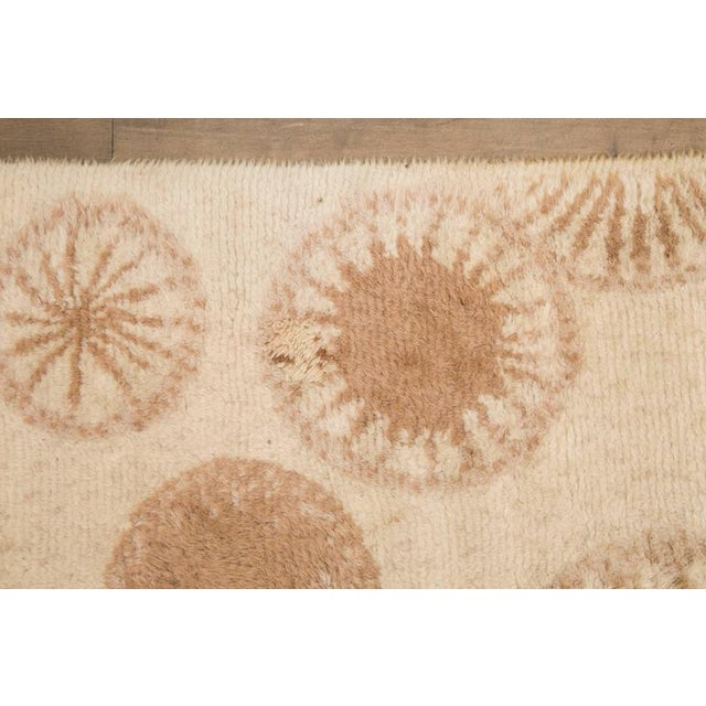 Mid-Century Modern Rare and Decorative Cogolin Wool Carpet, France, 1970 For Sale - Image 3 of 11