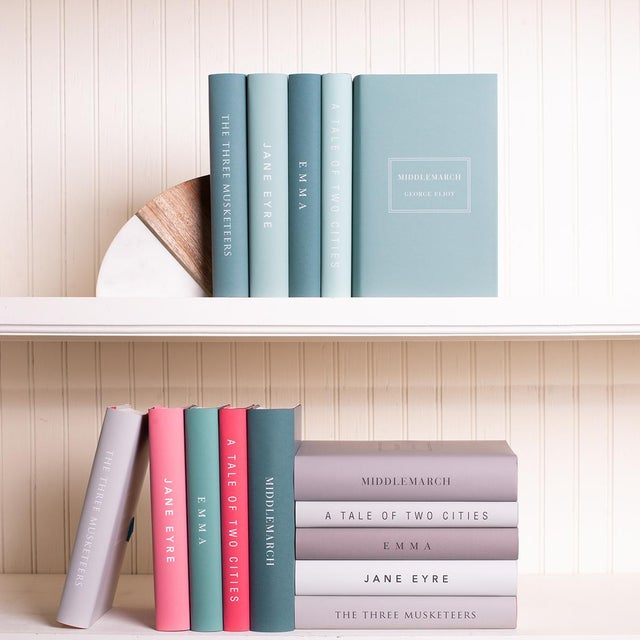 The Modern Classics Book Collection - Set of 10 in Bright Colors For Sale - Image 4 of 6