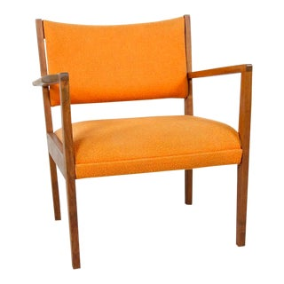 Vintage Jens Risom Furniture Lounge Chair For Sale