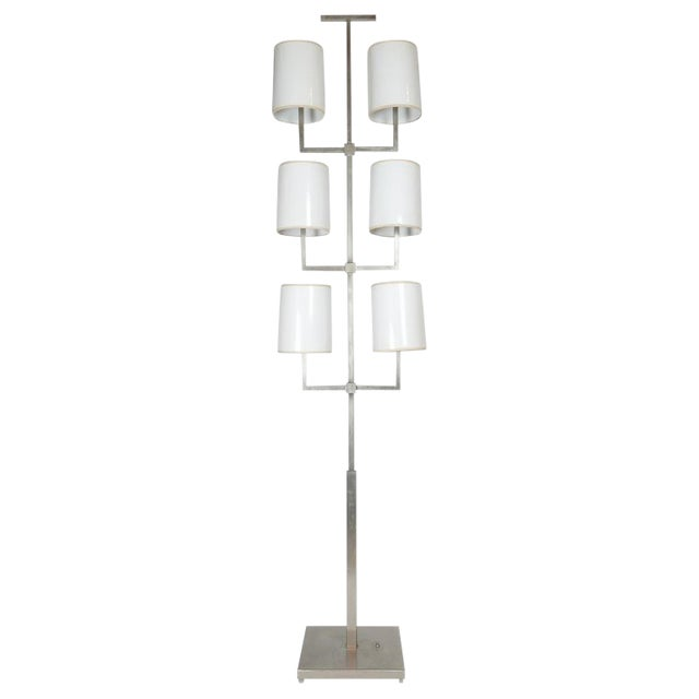 Very Rare Limited Production Tommi Parzinger Floor Lamp for Lightolier For Sale