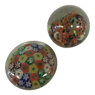 Venetian Paper Weights - A Pair For Sale