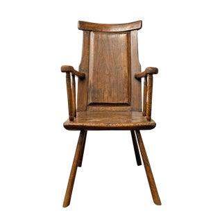 18th Century Belgian Vernacular Armchair For Sale