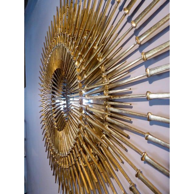"""""""Corona Regalis"""" a contemporary wall sculpture/mirror by Del Williams - Image 3 of 6"""