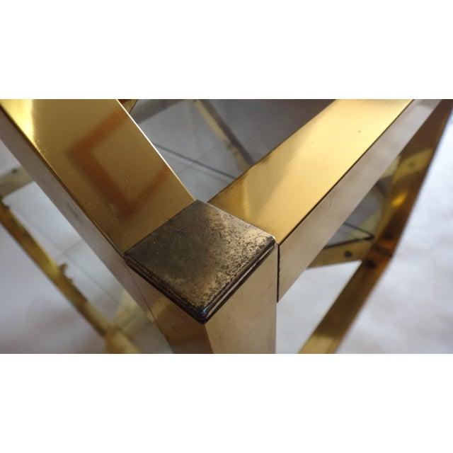 Brass Pivoting Octagon Display Bar - Image 11 of 11