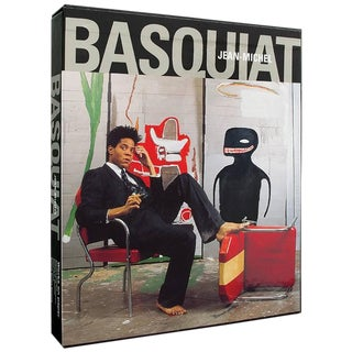 1999 Jean Michel Basquiat Works on Paper Book Cat. Raisonne Galerie Enrico Navarra For Sale